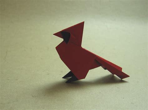 Origami Cardinal - cardinal rom 225 n d 237 az happy folding