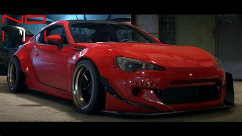 subaru brz black modified subaru brz premium 2014 modified nfs2015 sound youtube