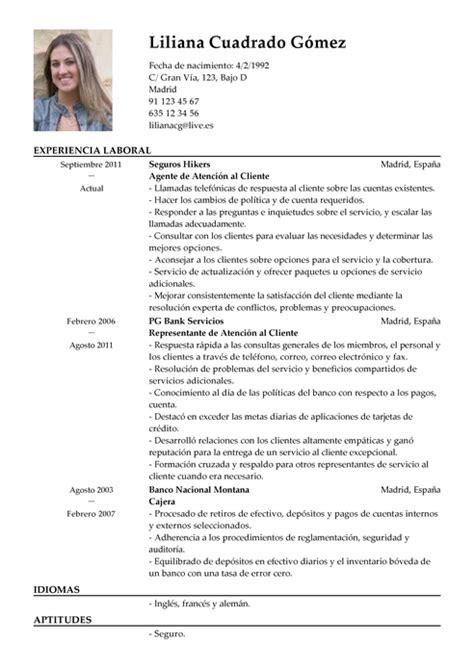Modelo Curriculum Vitae Peluqueria Modelos De Curr 237 Culum V 237 Tae Plantilla De Cv Gratis Livecareer