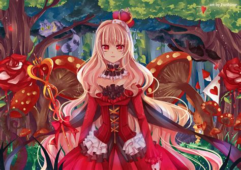 anime queen looking for alice by furihime on deviantart