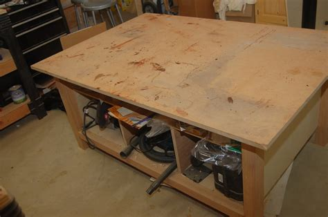 dead flat assembly table and assembly table by jmos lumberjocks com