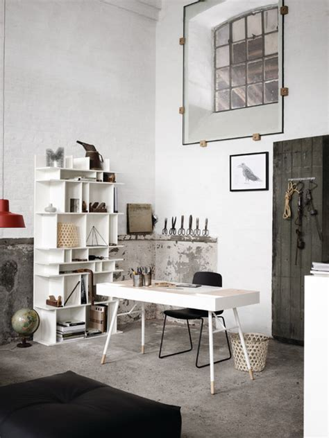 cupertino desk industrial home office new york by