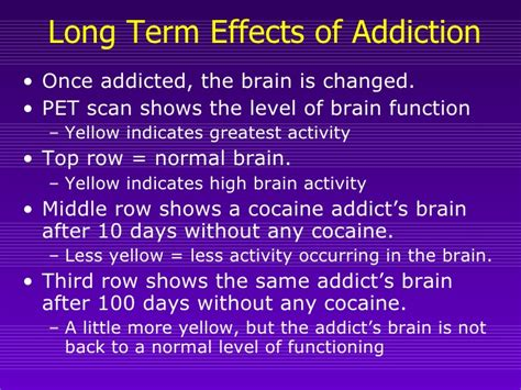 Effects Of Detox On The Brain by Drugsandthe Brain Part2 Addiction