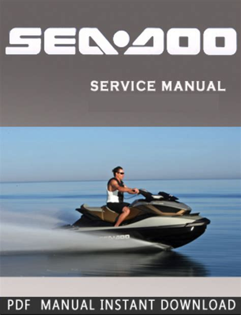 Free Seadoo Gtx Rfi Gs 1998 Workshop Manual Download