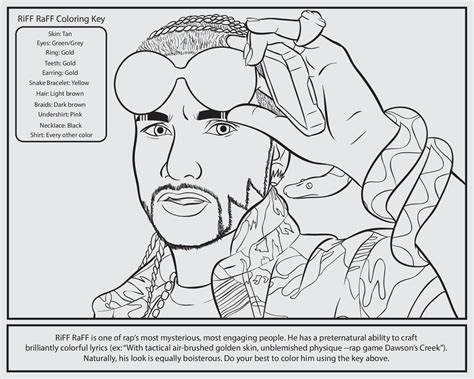 coloring book rap free coloring pages of rapper
