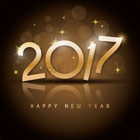 new year 2017 happy new year 2017 vector image 1955543 stockunlimited