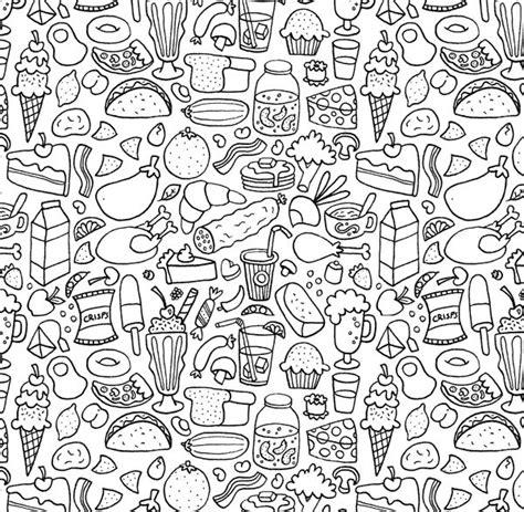 doodle food free 17 best ideas about doodle patterns on zen