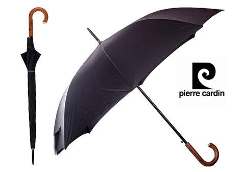 black umbrella pierre cardin black umbrella brown wooden hook handle auto