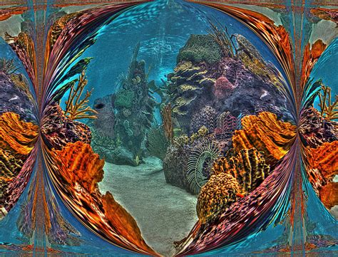 under the sea fantasy world digital art by rachel katic