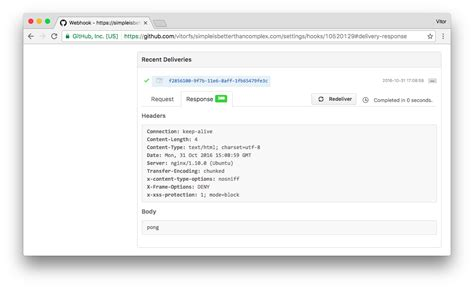 github hooks tutorial how to handle github webhooks using django