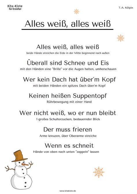 wandlen zum lesen winter gedicht f 252 r die kita passende gesten sind