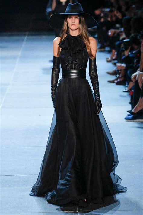 Frock Horror Of The Week Catwalk 4 by Laurent S S 2013 Fashion Week Black