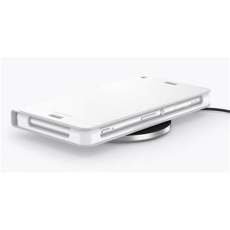 induction charger sony sony inductive wireless charger wch10 pad поставка за безжично захранване за sony и qi