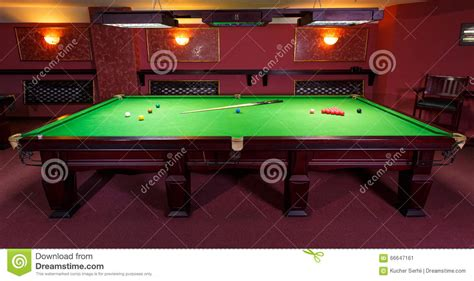 how to set up a pool table pool table set up for stock image image of