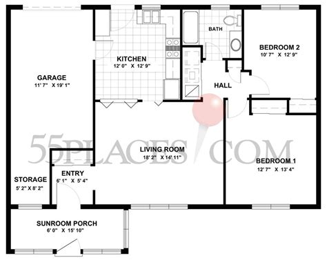 leisure village floor plans baronet floorplan 0 sq ft leisure village 55places com