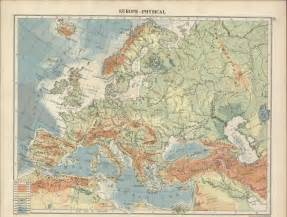 Physical Map Of Western Europe by Western Europe Physical Map Quotes