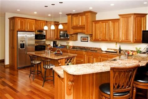 kitchen cabinets cherry finish gallery category kitchens image cherry with a