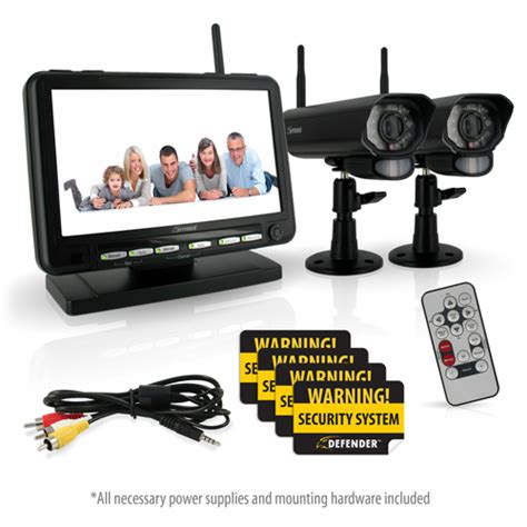 defender px301 011 digital wireless dvr security system