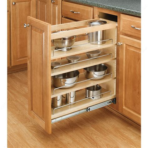 kitchen cabinet slide out shelf pull out organizer for base cabinet richelieu hardware