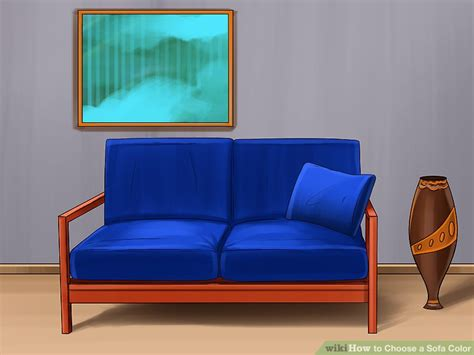 choosing a couch how to choose a sofa color 9 steps with pictures wikihow