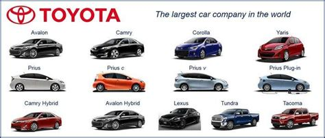 toyota company information toyota motor corporation company information