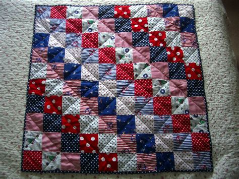 Patchwork Quilt - flowers in the window circus patchwork baby quilt