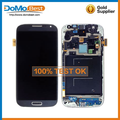 Best Quality Samsung S4 Kaca Lcd Touchscreen wholesale mobile phone replacement lcd touch screen for