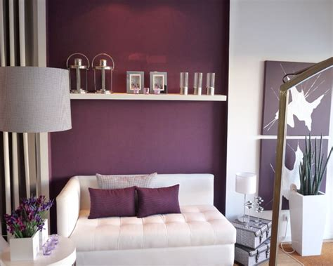 Grey White And Purple Living Room by 10 Ravish Modern Purple Bedroom Ideas