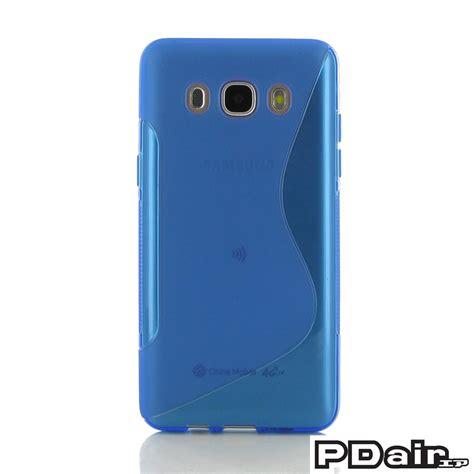 Softcase Transparan Samsung J5 2016 samsung galaxy j5 2016 soft blue s shape pattern pdair