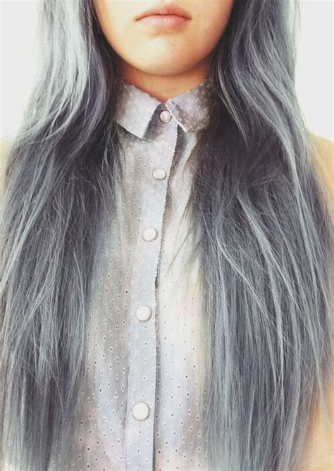 silver blue long hair pictures photos and images for facebook pelo gris miteta