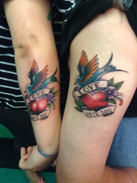 dragon tattoo in chicago my husband i s matching tattoo s with our wedding date