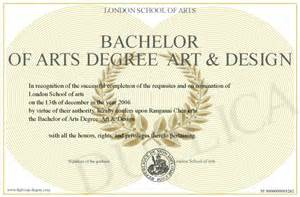how to write bachelor of arts degree on resume pin bachelor of arts in design certificate with sle