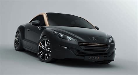peugeot rcz black 2013 peugeot rcz updated styling for sporty french coupe