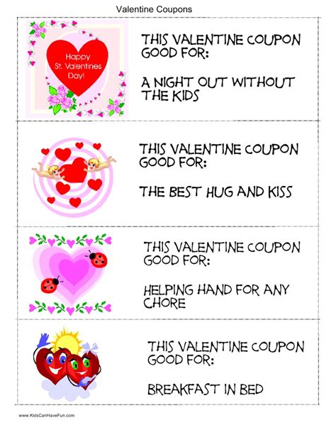 gram ideas for school coupons for parents valentines day ideas