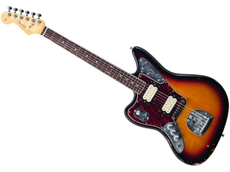 fender kurt cobain jaguar signature guitar announced