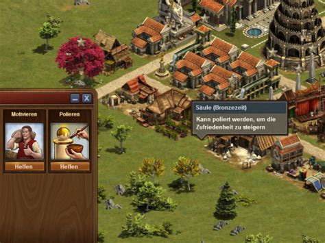 Forge Of Empires Polieren Motivieren forge of empires der friedliche weg bilder screenshots