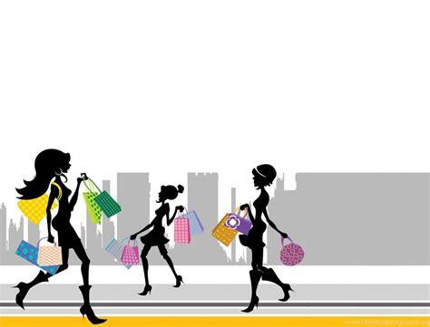 Shopping Wallpapers Clipart Best Desktop Background Ppt Templates For Shopping Free