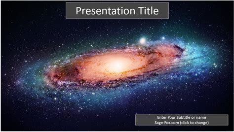 space themes for powerpoint 2007 free galaxy powerpoint template 8251 sagefox powerpoint