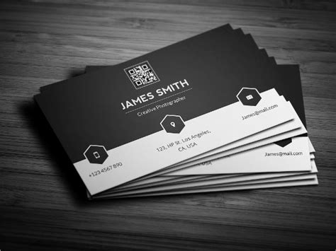 black and white calling card template 22 personal business cards free psd vector ai eps