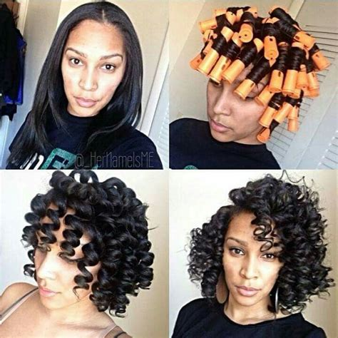 african american perm rod hairstyles for black 17 best images about perm rod on pinterest lace closure