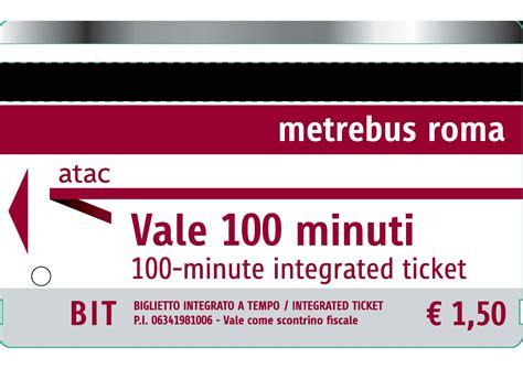 ufficio oggetti smarriti atac roma biglietti integrati a tempo bit cotral