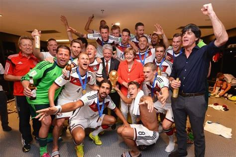 Germany's World Cup win about the last decade not just the