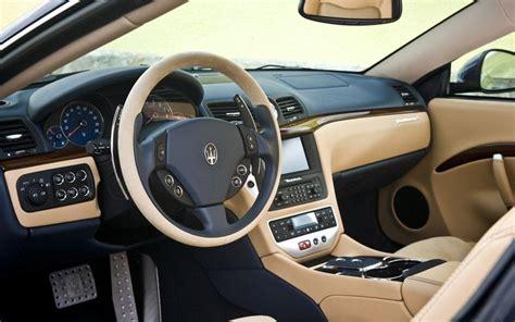 2009 maserati granturismo interior maserati granturismo transmissions autocars wallpapers