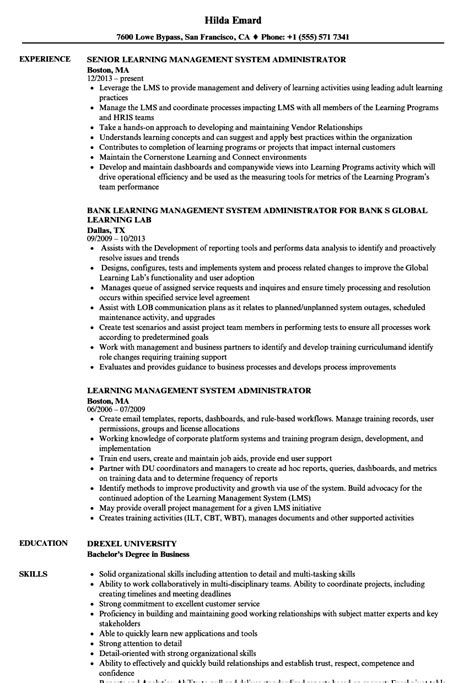 Lms Administrator Sle Resume by Lab Administrator Sle Resume As9100 Compliance Auditor Sle Resume