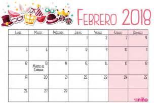 Calendario 2018 Febrero Febrero Calendario Escolar 2017 2018 Para Imprimir