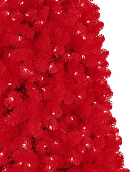 red christmas tree red artificial christmas tree treetopia