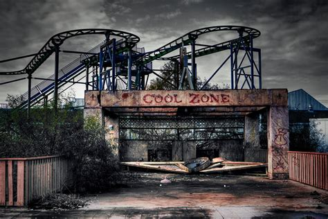abandoned amusement park abandoned amusement park