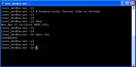 php format date from unix timest exles unix command exle display local date time