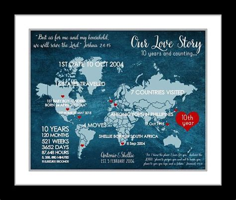 10 Year Anniversary Ideas For Husband - 10 year anniversary gift ideas for husband creative gift