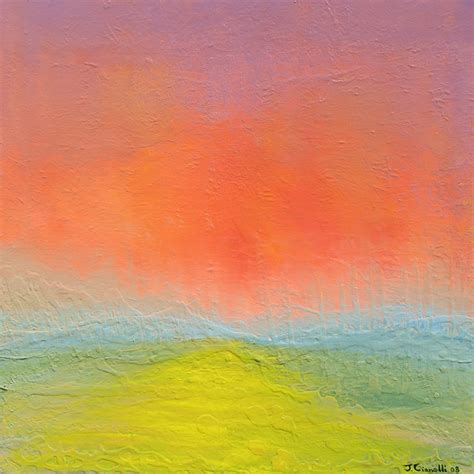 cianelli studios abstract landscape paintings